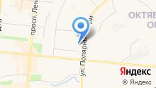 Андромеда на карте