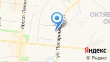 Отделение пенсионного фонда РФ по Мурманской области на карте