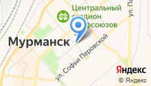 Комитет по жилищной политике Администрации г. Мурманска на карте