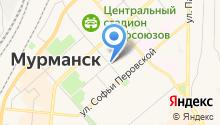 Единая дежурно-диспетчерская служба г. Мурманска на карте