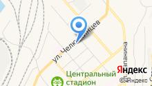 Ателье по ремонту одежды на ул. Челюскинцев на карте