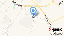 Автомойка и шиномонтаж на ул. Капитана Орликовой на карте