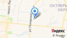 Адвокат Симоненко Е.С. на карте