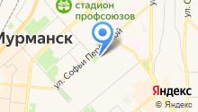 SkyLash Мурманск на карте