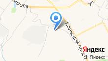 Ателье на ул. Капитана Орликовой на карте