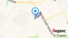 Утэп на карте