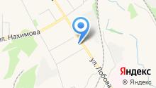 Аида на карте