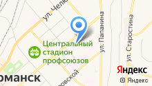 Агентство Мурманнедвижимость на карте