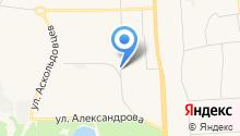 АвтоЛеди на карте