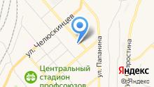 Андекс на карте