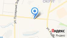 DFM Мурманск, FM 101.5 на карте