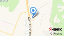 Сотэлит на карте