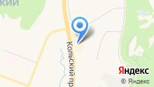 DESEO на карте