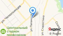 СОРОКИН на карте