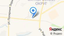 Мастерская по кузовному ремонту на ул. Книповича на карте