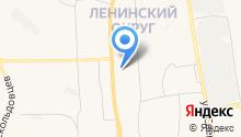 Управление Ленинского административного округа на карте