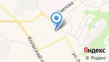 Отдел лицензионно-разрешительной работы Управления МВД России по г. Мурманску на карте