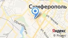 Бюро недвижимости Крыма на карте