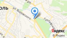 Эвакуатор в Симферополе на карте