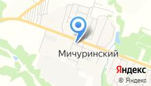 Пересвет на карте