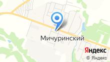 Пересвет, продуктовый магазин на карте