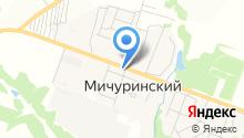 Продуктовый магазин на Молодёжной на карте
