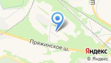 Ягода Карелии на карте
