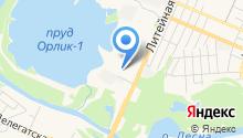 Бакалея на карте