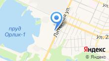 Автоцентр на Литейной на карте
