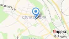 Алексеевский хлеб на карте