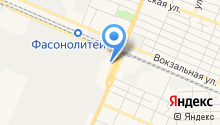 Автомойка на Кромской на карте