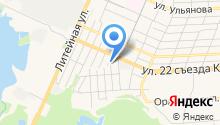 1-я транспортная компания на карте