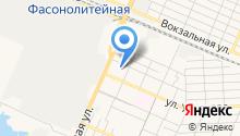 Автостоянка на Болховской на карте