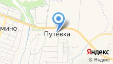 Продуктовый магазин Денисенко М.С. на карте