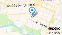 Mezhgorod на карте
