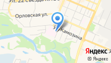 АМС-Клиник Брянск на карте