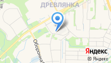Автобаня на карте
