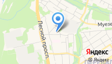 Автосервис на ул. Плеханова на карте