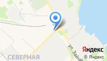 Бистро на Заводской на карте