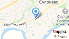 Церковь Спаса Нерукотворного образа на карте