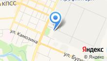 Автосервис на Базарной на карте