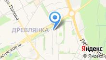 Автошкола Клаксон на карте
