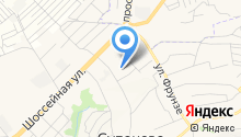 Администрация с. Супонево на карте