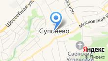 Почтовое отделение c. Супонево на карте