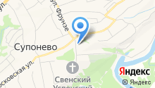 Милославский на карте