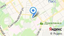 Пекарня на ул. Пирогова на карте