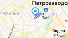 Автосервис на ул. Черняховского на карте
