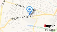 АВТО-ZONA на карте