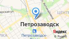 UniStream на карте