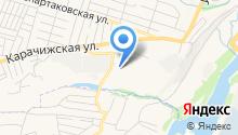 Алый парус-Брянск на карте